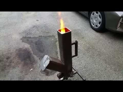 Gravity Feed Pellet Wood Burning Rocket Stove Part 1 Youtube Rocket Stoves Stove Rocket Stove Design
