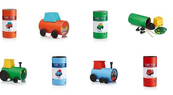tube-toys — jouets à emballage écologique