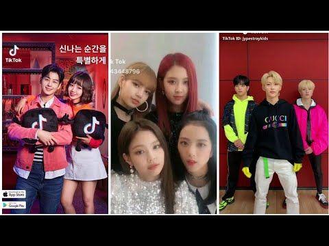 Tik Tok Of Kpop Idols Compilation Blackpink Monsta X Stray Kids Youtube Monsta X Kpop Kpop Idol