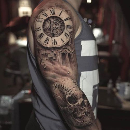 125 Best Half Sleeve Tattoos For Men Tattoo Sleeve Men Half