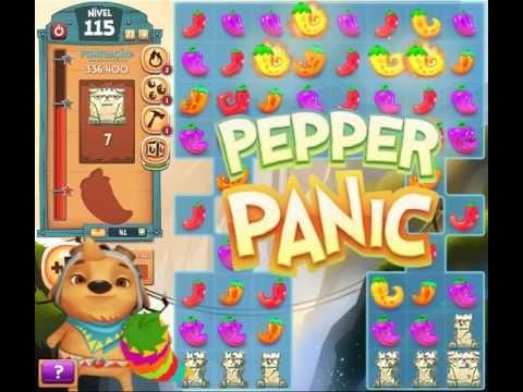 Pepper Panic Saga levels 114 and 115