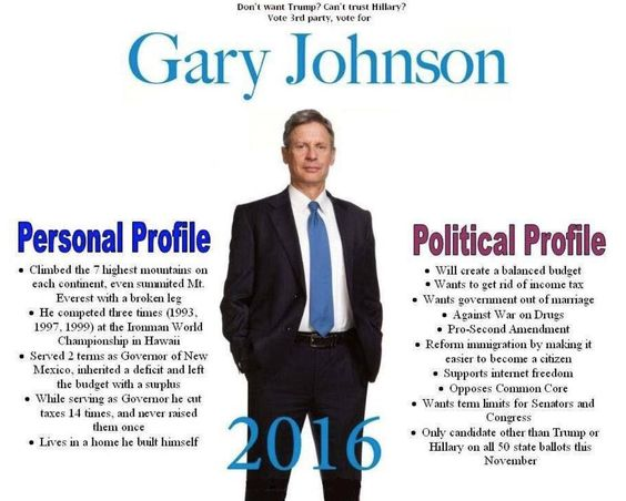 Gary Johnson Memes (@GaryJohnsonMeme) | Twitter