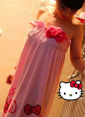 Hello Kitty Bathrobe