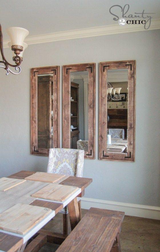 Diy Full Length Mirror Full Length Mirror Diy Home Diy Home Decor Mirrors