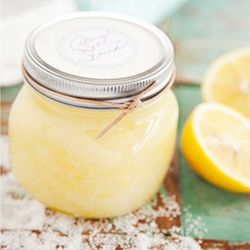 Peel off those layers of clothing AND skin with this heavenly citrus scrub.
