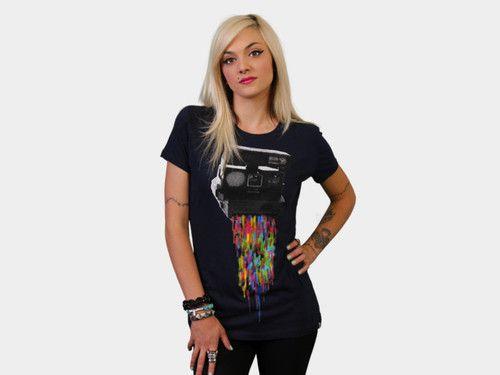 """Pixel Shot"" T Shirt by DesignByHumans Now available..."