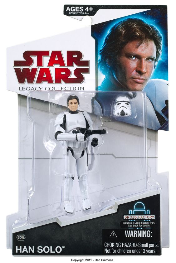Star Wars: Legacy Collection - Han Solo (Stormtrooper disguise) Action Figure #StarWars