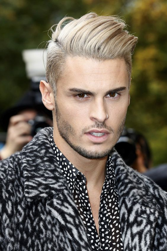 Photos baptiste giabiconi comme justin bieber il passe au blond platine beautiful boy - Blond platine homme ...