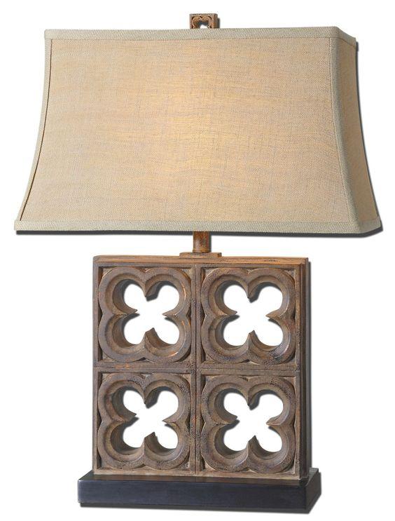 Vettore Bronze Table Lamp