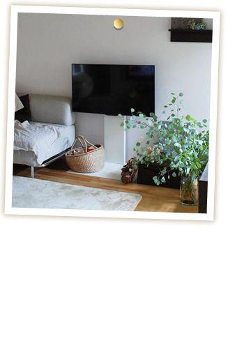 テレビスタンド カラー インテリア 壁 色 ポイント