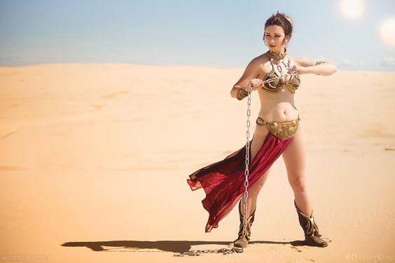 Slave Leia : Photo
