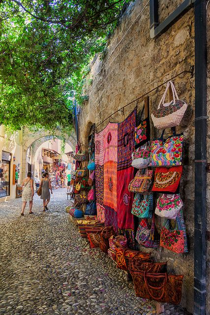 Medieval Old Town of Rhodes, Greece