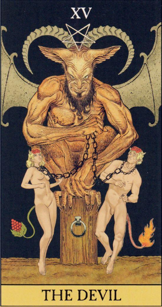 таро-дьявол