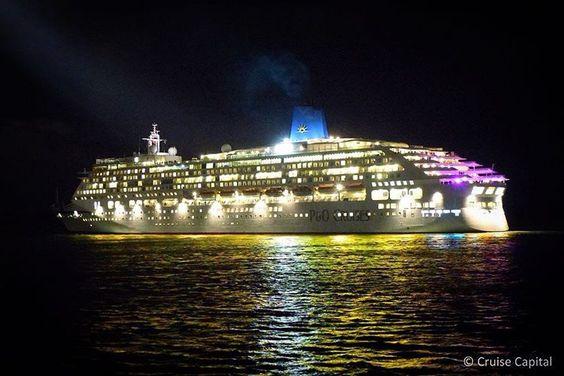 """""""@pandocruises #Aurora departing #Southampton"""""""