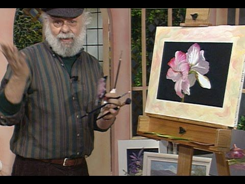 """The Beauty of Oil Painting, Series 1, Episode 10 """" Poppies on Gold Leaf """" - YouTube"""