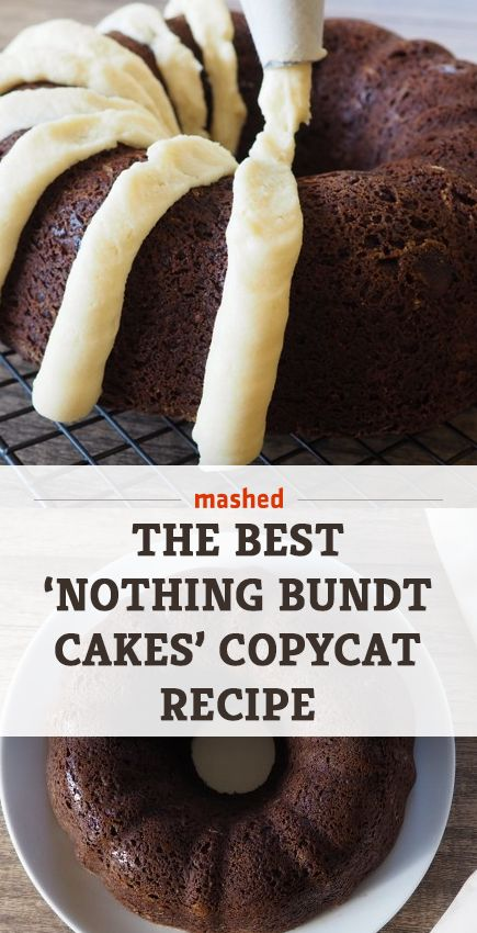 The best Nothing Bundt Cakes copycat recipe