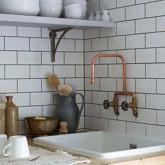 The 25 Best Kitchen Wall Tiles Ideas On Pinterest  Cream Kitchen Glamorous Kitchen Wall Tile Design Ideas
