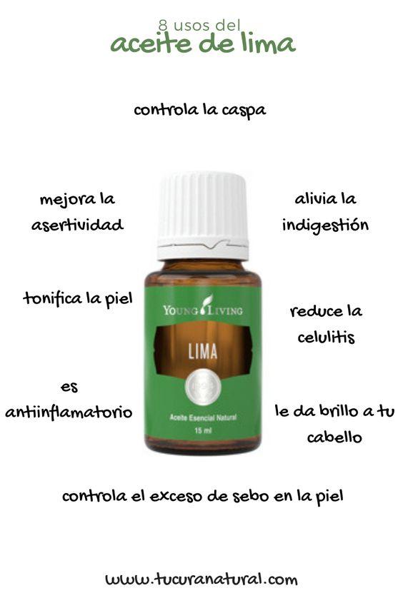 uso del aceite esencial de lima