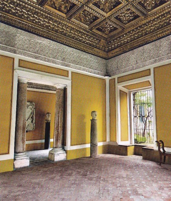 The Golden Room-Casa Pilatos-Seville-Spain