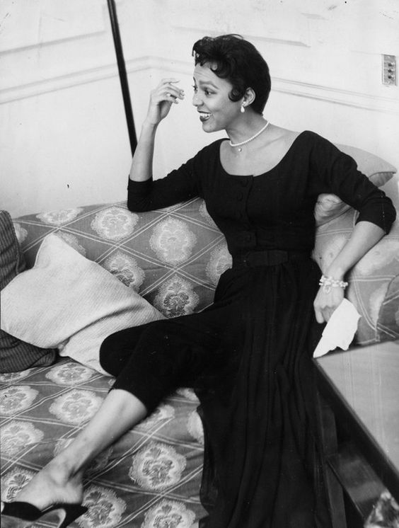 Dorothy Dandrigde; All black everything and totally chic