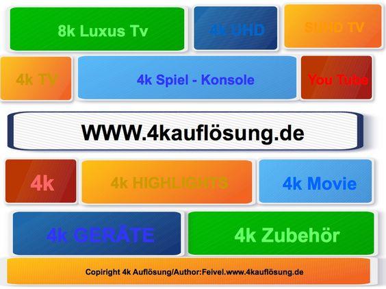 4k Zubehör, 4k Highlights, 4k UHD, 4k SUHD, 4k Ratgeber, 4k Movie, 4k Video, 4k UHD TV und vieles mehr