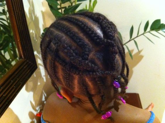 Overlapped Cornrows
