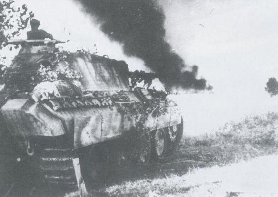 "Немецкий тяжелый танк «Пантера» PzKpfw V ""Panther"", Sd Kfz 171. Галерея 2"