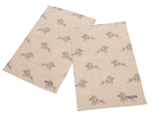 Tea Towels #polo #horse www.bonniegrey.co.uk