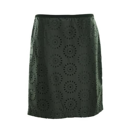 leather skirt eyelet detail - Google Search