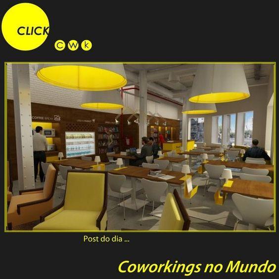 Urban Station (Buenos Aires, Argentina) Nossos hermanos já praticam o coworking há um bom tempo. O Urban Station é uma franquia internacional de coworking que tem cinco unidades no país.