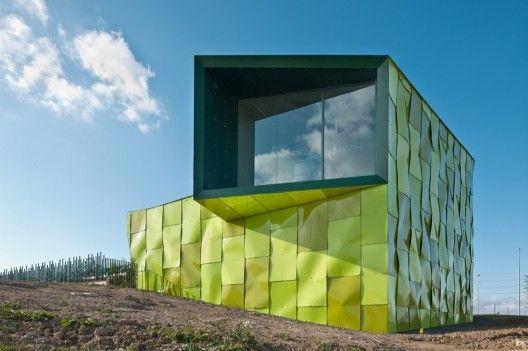 Central de Recogida de Residuos Sólidos Urbanos by Vaíllo & Irigaray + Galar #architecture