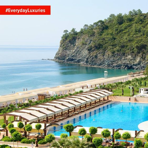Every part of your holiday on the Mediterranean coast is almost as stunning as the next. #EverydayLuxuries