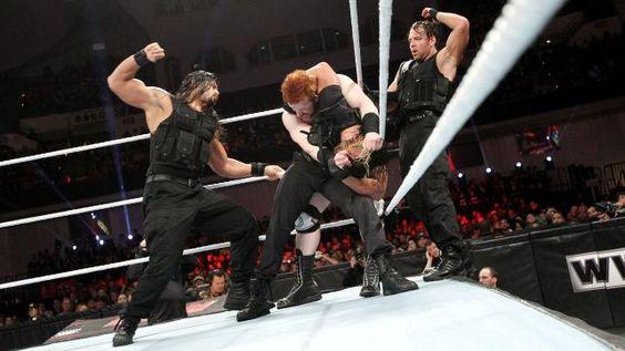 Ryback Vs The Shield