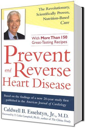 Prevent and Reverse Heart Disease  Heart disease remains the leading cause of death in the United States for men and women. But, as Dr. Caldwell B. Esselstyn, Jr., a former internationally known surgeon, researcher and clinician at the Cleveland Clinic, explains in this book it can be prevented, reversed, and even abolished.