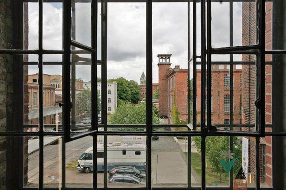 Appartement / Zimmer #4 - Blick in den Hof