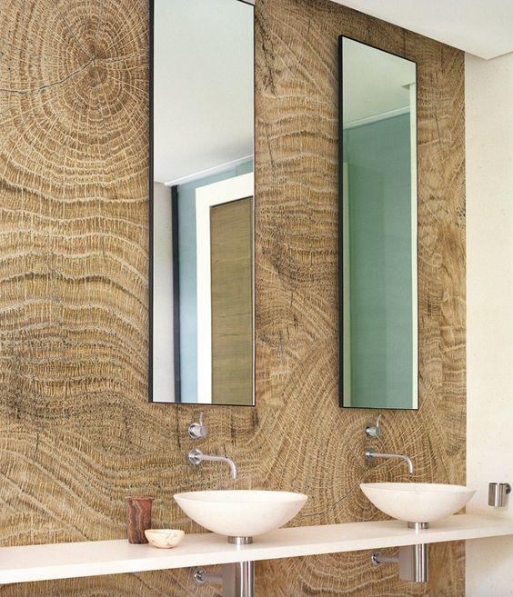 de bain en bois salle de bains salle de bains papier peint produits et ...