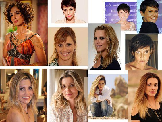 Retrospectiva 2012 - Os cabelos das celebridades que marcaram o ano. Cortes e cores para se inspirar e começar o ano com novo visual