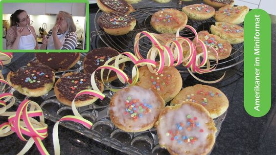 #Carneval#Weight Watchers #Food | Amerikaner in Miniformat | Rezept