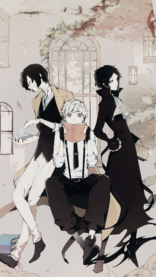 """"""" Bungou Stray Dogs phone wallpapers suggested by anon """""""