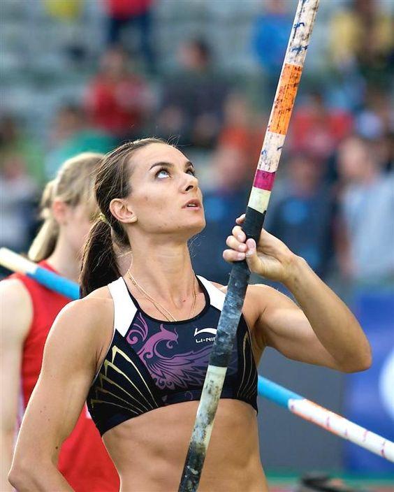 Woman Russian Women Pole Vaulter 43