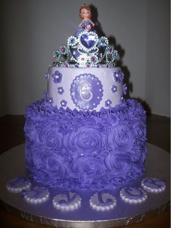 Sofia The First Cake Design Goldilocks : Birthdays, Cakes and Galleries on Pinterest