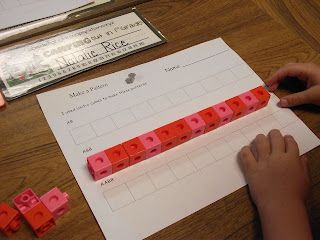 First Grade O.W.L.s: Math Stations and Math Cards Freebie