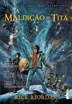 MALDIÇAO DO TITA, A - GRAPHIC NOVEL
