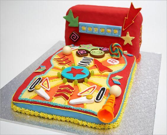 Pinball Cake idea