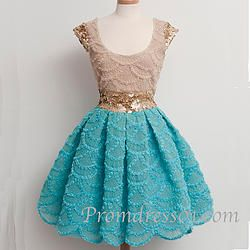 #promdress01 prom dresses - cute lace cap sleeve vintage short prom dress for teens, homecoming dress, 2015 junior prom dress #coniefox #2016prom