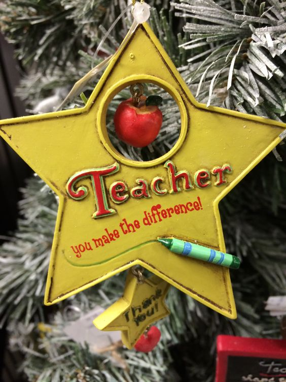Teacher Ornament #962972 $6.99 www.lambertpaint.com