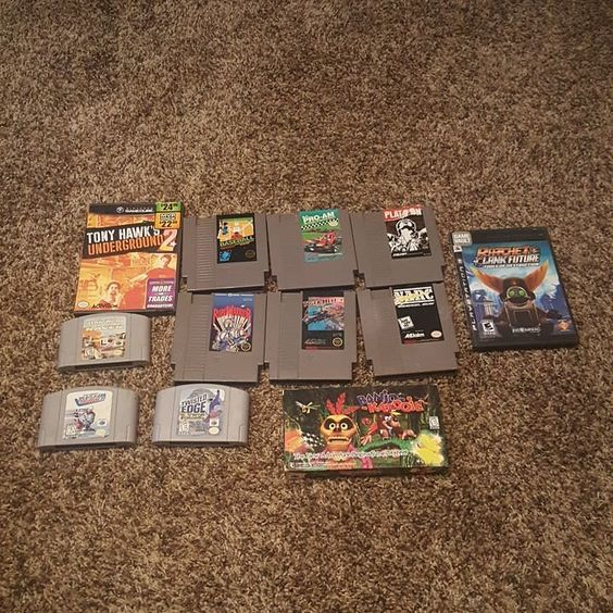 Shared by gamerdude1413 #retrogaming #microhobbit (o) http://ift.tt/1qk0T7n you to @gamertundraclaimsale and @gamertundra for the awsome claim sale. Package came with no damage to anything and all super clean lables #mailday #mail #nes #n64 #nin10do #nintendo #gamecube #ps3 #playstation #vhs #videogames  #retro #retro4everything #retrocollective