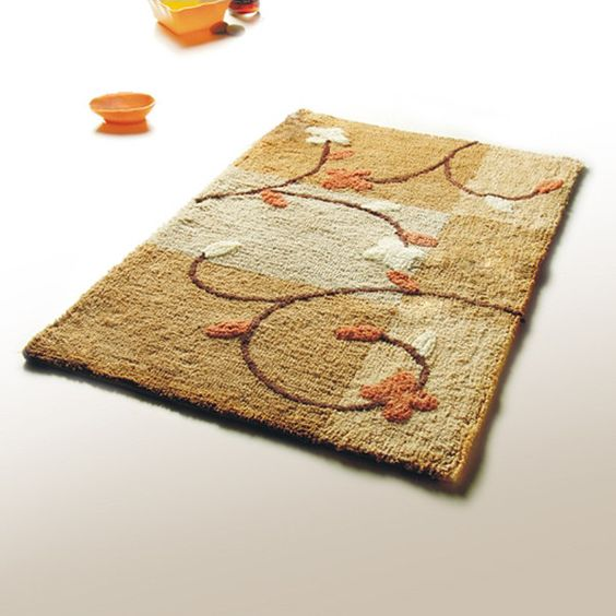 Naomi Summer Cherry Luxury Home Rugs in 19.7 by 31.5 inches