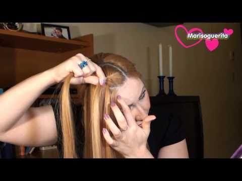 Como hacer una trenza francesa peinado moderno my for Como hacer cuadros modernos