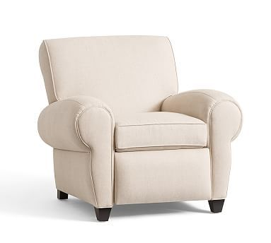 Dover Linen Recliner Club Chair - Free Shipping Today - Overstock ...